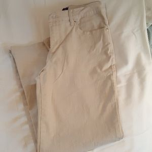 3 for $12 Khaki colored jeans, 8